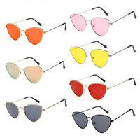Womens Vintage Cat Eye Sunglasses Mens Fashion Sexy Shades Glasses Metal UV K659