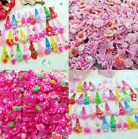LOT 20pcs Mixed Cartoon Styles Baby Kids Girls HairPin Hair Clips Jewelry