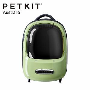 PETKIT BREEZY EVERTRAVEL Cat Inbuilt Lamp Fan Capsule Carry Backpack - AVOCADO G