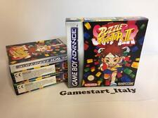 SUPER PUZZLE FIGHTER II 2 (NINTENDO GAME BOY ADVANCE GBA) NUOVO NEW PAL VERSION