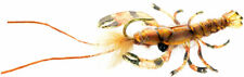 Fly Fishing Flies (Bass, Bream, Perch, Catfish) Realistic Crayfish Brown Fly (3)