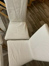 Lot of 4 Slipcovers for Ikea Henriksdal Gobo White Chair Cover