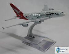 14cm 1:450 Qantas A380 Airplane Aeroplane Diecast Metal Plane Toy Model