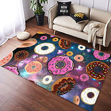 Area Rugs For Living Room - 3D Donut Cake Area Rugs, Home Living Floor Decor ...