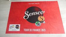 DRAPEAU SENSEO EDITION  LIMITEE CARAVANE  PUBLICITAIRE TOUR DE FRANCE GOODIES