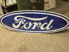 Ford Oval Repro Metal Sign