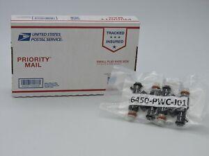 16450-PWC-J01 (SET OF 4) Fuel Injectors OEM HONDA CIVIC FIT CR-Z 1.5L 1.8L 06-14