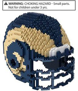 Forever Collectibles Unisex Team Helmet Construction Toy Souvenir, Blue,
