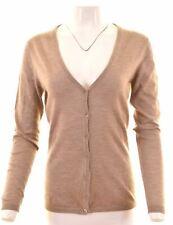 ETRO Womens Cardigan Sweater IT 44 Medium Brown Cashmere  FR01