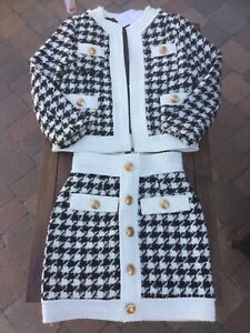 Madam Mayfair size 4 Two piece tweed suit