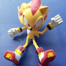 "New ListingSonic Hedgehog Super Shadow Posers 6"" Figure Sega Jazwares 2008 Missing Ear"