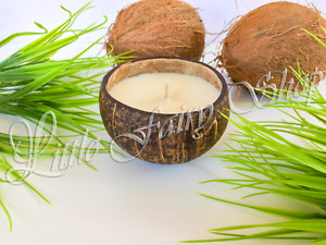 Coconut Shell Soy Wax Candle