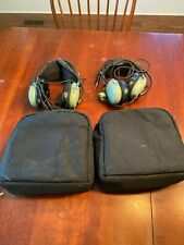 New listing David Clark H10-13.4 Aviation Headsets - Pair with Cases