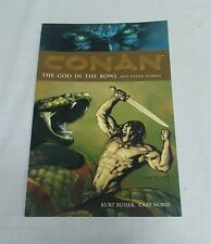 Conan The God in the Bowl TPB Dark Horse Graphic Novel