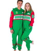 bbb5e13906c NRL Onesie Footy Suit - South Sydney Rabbitohs Infant Kids Youth Adult All  Sizes