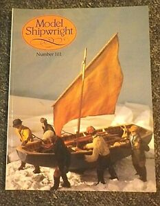 MODEL SHIPWRIGHT No. 101/1997 WITH MODELLERS DRAUGHT PLAN