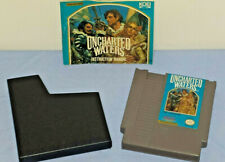 Uncharted Waters NES Video Game +Manual (Nintendo 8bit, 1991) PRISTINE CONDITION