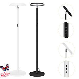 "69.9"" Corner Floor Lamp Modern Touch LED Standing Light 3 Color Temperatures UK"