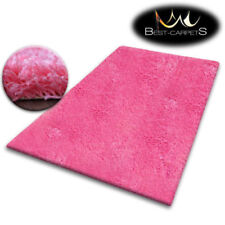 Alfombras rectangulares color principal rosa de polipropileno