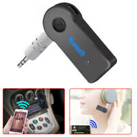 3.5mm Car Wireless USB Mini Bluetooth Receiver Aux Stereo Audio Music Adapter