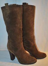 BOUTIQUE 9 Brown Suede Sz 8M BELINDA Boots Originally $285 - EUC