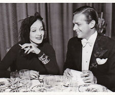 Marlene Dietrich Douglas Fairbanks Jr Hollywood Original Vintage Novembre 1938