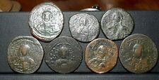 Lot 7 Coins Jesus Christ ancient byzantine coins