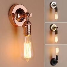 Retro Lampholder Sconce Antique Up Down Wall Light Edison Flushmount