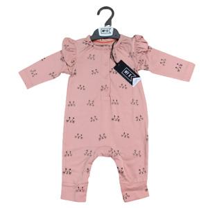 Baby Girl Myleene Klass Pink All In One MY K Romper Cats Babygrow