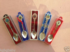 5 / Collectable Retro Vintage Souvenir Spoons-UNUSED STILL IN CASE
