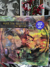 MARTIN BARRE - THE MEETING Limited Edition Blue Vinyl LP (Jethro Tull Guitarist)