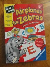 Ravensburger Airplanes to Zebras Learning Alphabet Puzzle Game