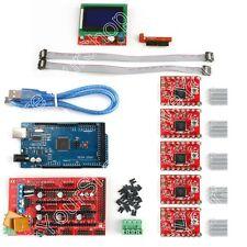 3D Printer Kit RAMPS 1.4+ Mega2560+ A4988+ 12864 LCD Controller For Arduino B1