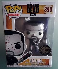 Negan Bloody Limited Edition Black and white Funko Pop Figure Walking Dead TV