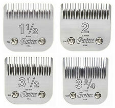 "Oster 76 ""Big Blade"" 4 PACK Detachable Clipper Replacement 1.5 - 2 - 3.5 - 3.75"