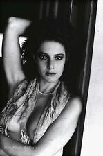 1980s Vintage HELMUT NEWTON Movie Actress Debra Winger Fashion Photo Art 16X20