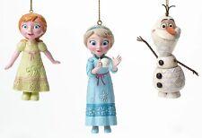 Enesco Jim Shore Disney Traditions FROZEN ornament set  Ornaments NIB  4046062