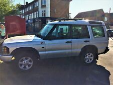 Land Rover Discovery 2, 53 plate (2004), Silver, Manual, 7 seats