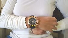 Invicta 12956 JASON TAYLOR LIMITED EDITION ROSE GOLD BOLT ZEUS MONSTER!