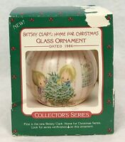 Vintage Hallmark Keepsake Ornament Betsy Clark Home For Christmas 1986 Glass Box