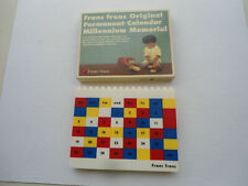 Franc Franc Original Permanent Calendar Millennium Memorial