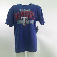 Texas Rangers Official MLB Genuine Apparel Kids Youth Size T-Shirt New with Tags