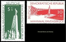 EBS East Germany DDR 1957 Ravensbruck Concentration Camp Michel 566-567 MNH**