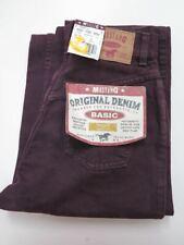 Mustang Basic 26/28 Jeans Hose weinrot 90er True VINTAGE 90s denim trousers NOS