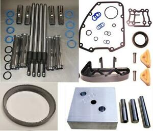 Adjustable Pushrods Shoes Tool Gaskets for Harley Twin Cam 88 96 1999-05