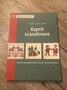 "Point de Croix Stickvorlagen Buch Veronique Enginger "" Esprit Scandinave"""