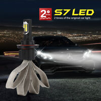 2pcs S7 H4 H7 H11 H8 9006 HB4 H1 H3 HB3 H9 H27 Car Headlight LED bulbs