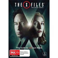 THE X FILES-DVD-Season 10-Region 4-New AND Sealed-2 Dics Set-TV Series