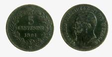 pci5037) Vittorio Emanuele II (1861-1878) 5 Centesimi 1861 Mi