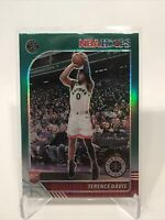 2019-20 Panini NBA Hoops Premium Stock Terence Davis Green Prizm Rookie RC